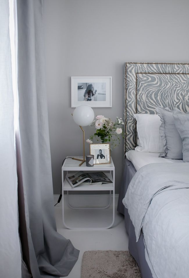 The perfect bedroom // By House of Philia. On the wall; Nordsjo Ambiance Xtramatt – wTR 51.97 wY1 1.17 wZ1 72.66