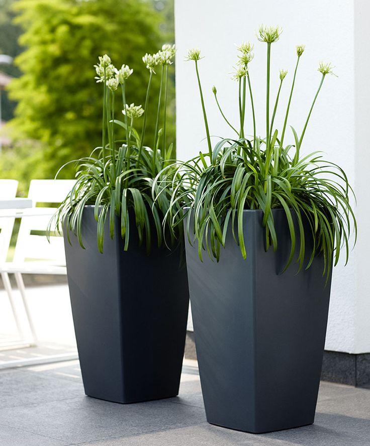 1000 images about modern garden sculpture on pinterest - Pot decoratif exterieur ...