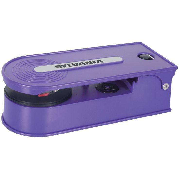 SYLVANIA STT008USB PURPLE PC Encoding USB Turntables (Purple)