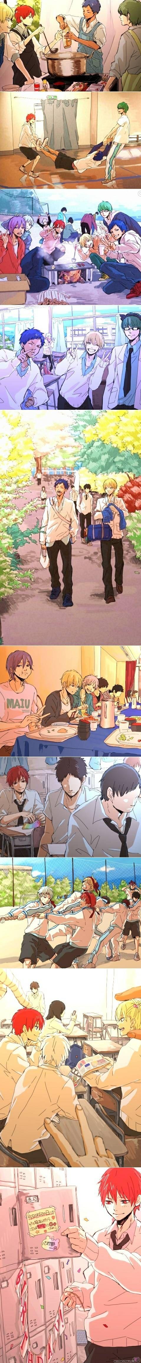 Kiseki times ♥ - Żródło: Kuroko no Basket - Jedyny polskojęzyczny serwis obrazkowy przeznaczony dla fanów mangi, anime i kultury azjatyckiej. Użytkownicy mogą zamieszczać grafiki związane z tematyką strony, głosować na nie, komentować.