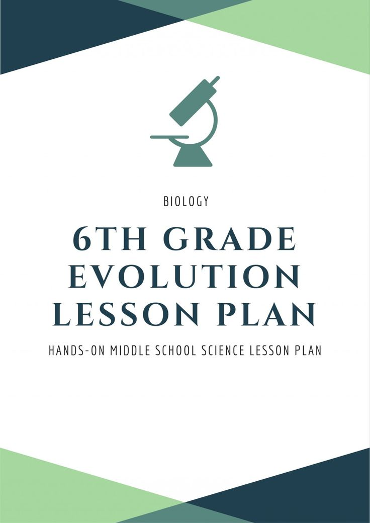 A middle school lesson plan teaching evolution with a focus on mutations and their role in natural selection.