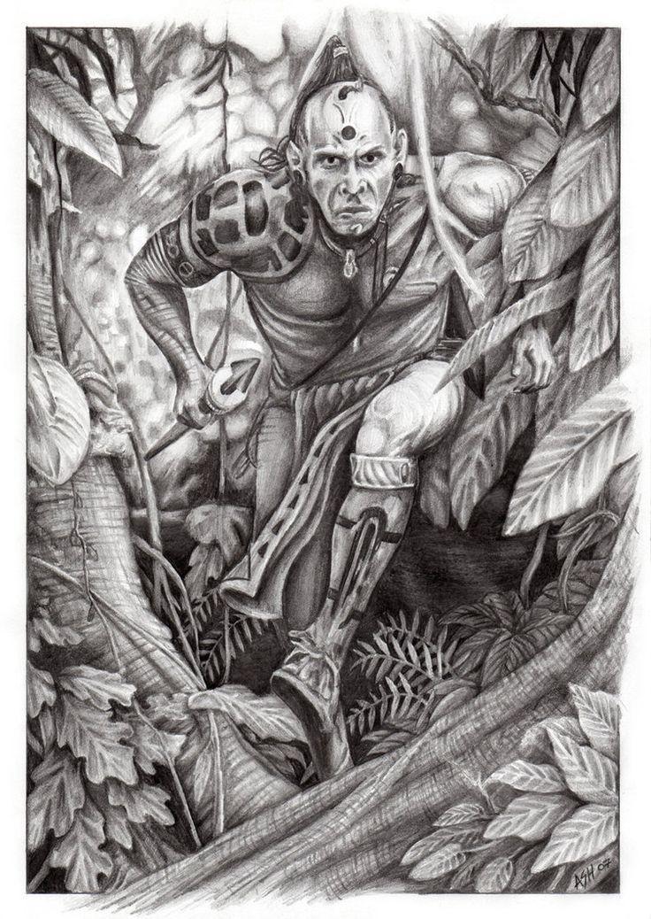 Tattoos Apocalypto Drawings