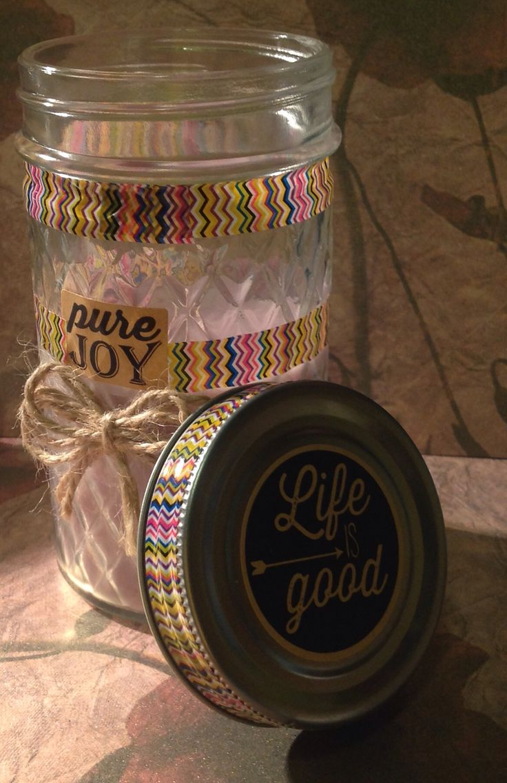 Pure Joy Soy Candle Made by Elly Baba's Treasures  $12
