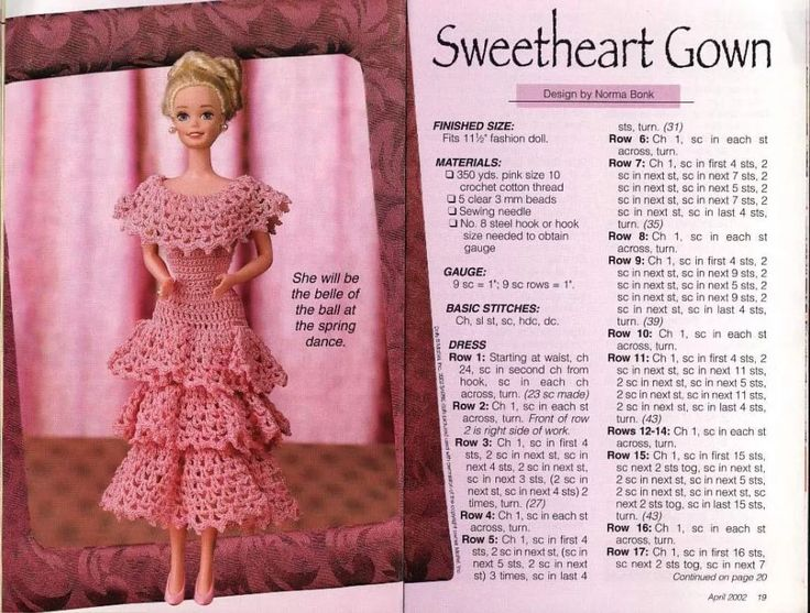 1048 best doll clothing images on pinterest crochet stitches barbie crochet patterns 2 d simonetti picasa web albums dt1010fo