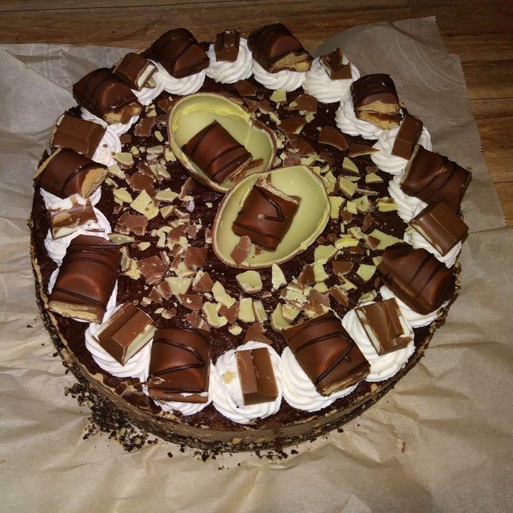 Kinder Chocolate Cheesecake