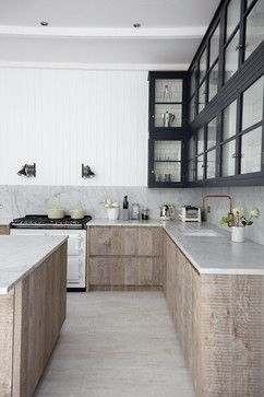 Natural marble and granite in honed finishes, as well as engineered stones that replicate raw finishes, are a few materials we'll be seeing a lot of next year.