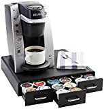 #5: AmazonBasics Coffee Pod Storage Drawer for K-Cup Pods  36 Pod Capacity