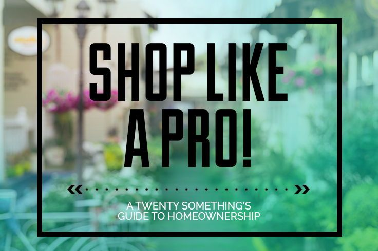 A Twenty-Somethings Guide to Shopping: price matching policies, apps to assist you in your shopping & more.