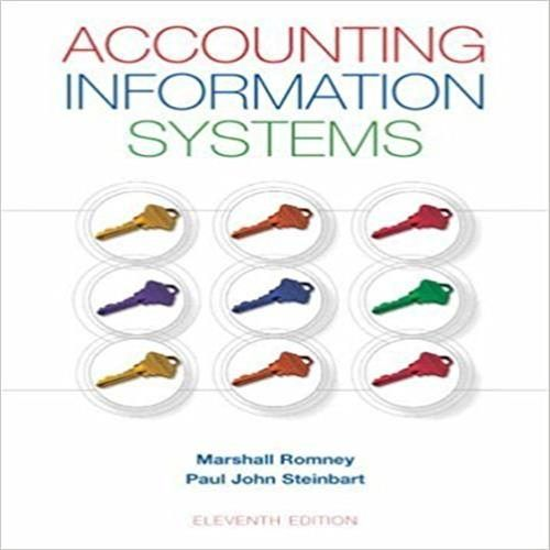 accounting information system test bank pdf