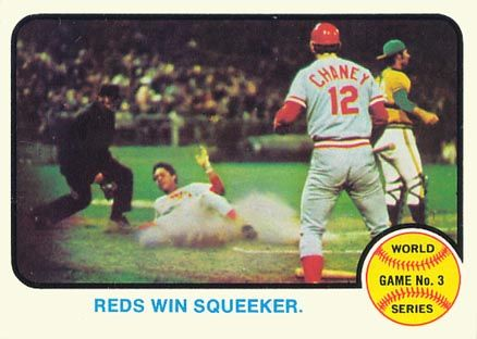 1973 WORLD SERIES | 1973 Topps World Series Game 3 #205 Baseball Card Value Price Guide