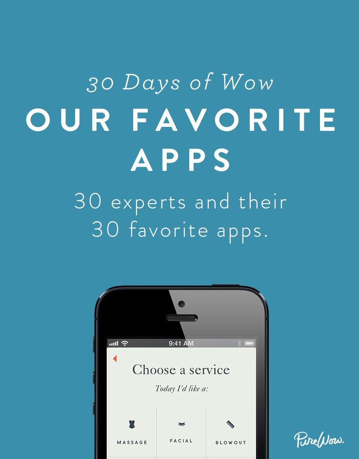 Our 30 Favorite Apps via @PureWow