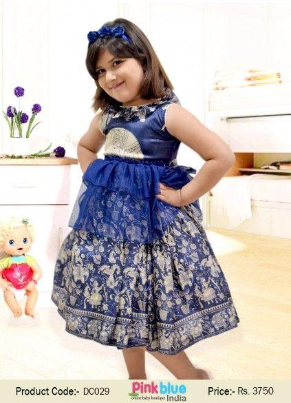 Indian Traditional Dresses for Little Girls, Designer Baby ...