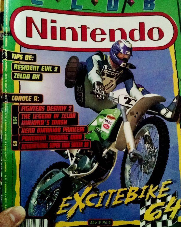 El mejor juego de carreras de moto de la historia: #Excitebike64 de #nintendo64  The best Moto racing game of all times released on Nintendo 64. Of course I'm talking about Excitebike 64  #retrogame #retro #videogames #videojuegos #clubnintedo #Nintendo #tbt #throwbackthursday #sectornintendo #sectorn #gamer