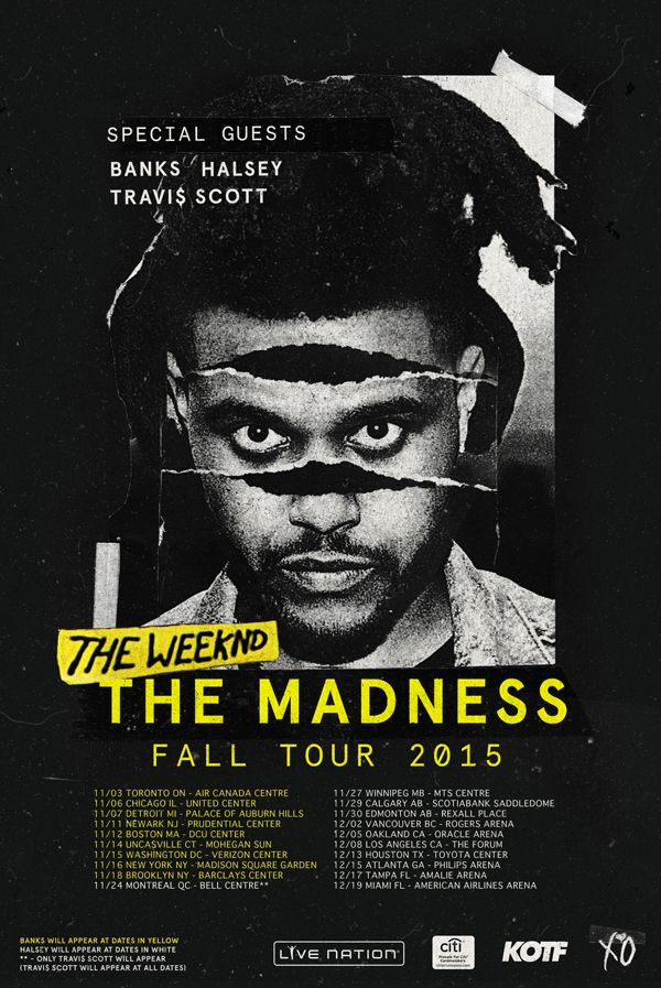 The Weeknd | Official Site  I'm still mad it didn't say SAN JOSE OR THE SHIRT ONLINE=NO SAN JOSE