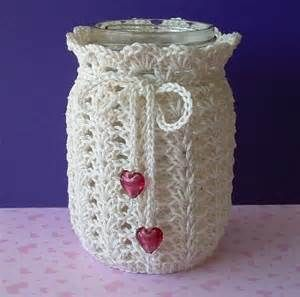 crochet jar covers - Bing Images