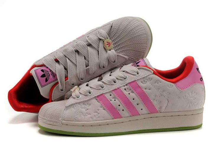 hot ladies adidas eyewear Superstar II Fiore Art Gray Pink Outlet S87z9412