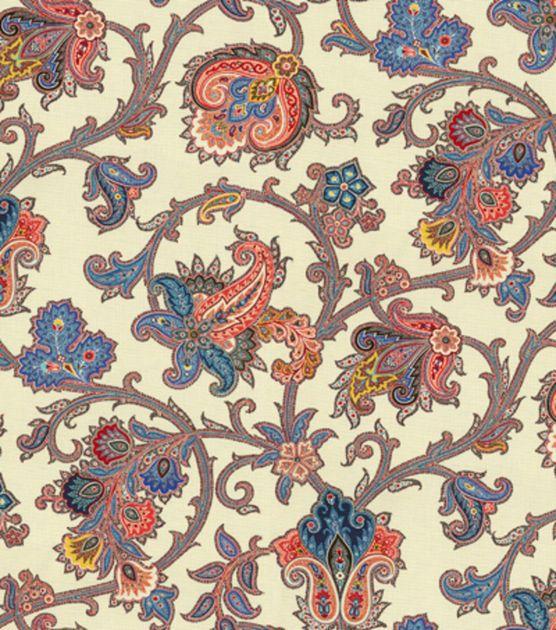 Home Decor Print Fabric-Waverly Tennyson Jewel, , hi-res