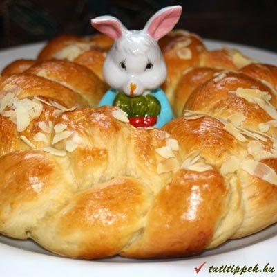 Húsvéti sütemények - húsvéti kalács