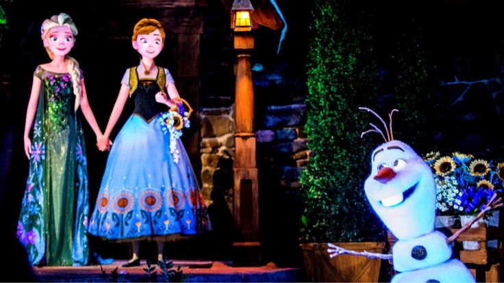 What do you think of the Frozen Ever After ride? 💙  #epcot #orlando #frozenride