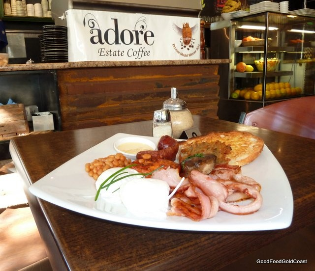 Koffee Shack Burleigh Heads, Gold Coast - good value breakfast with great coffee.