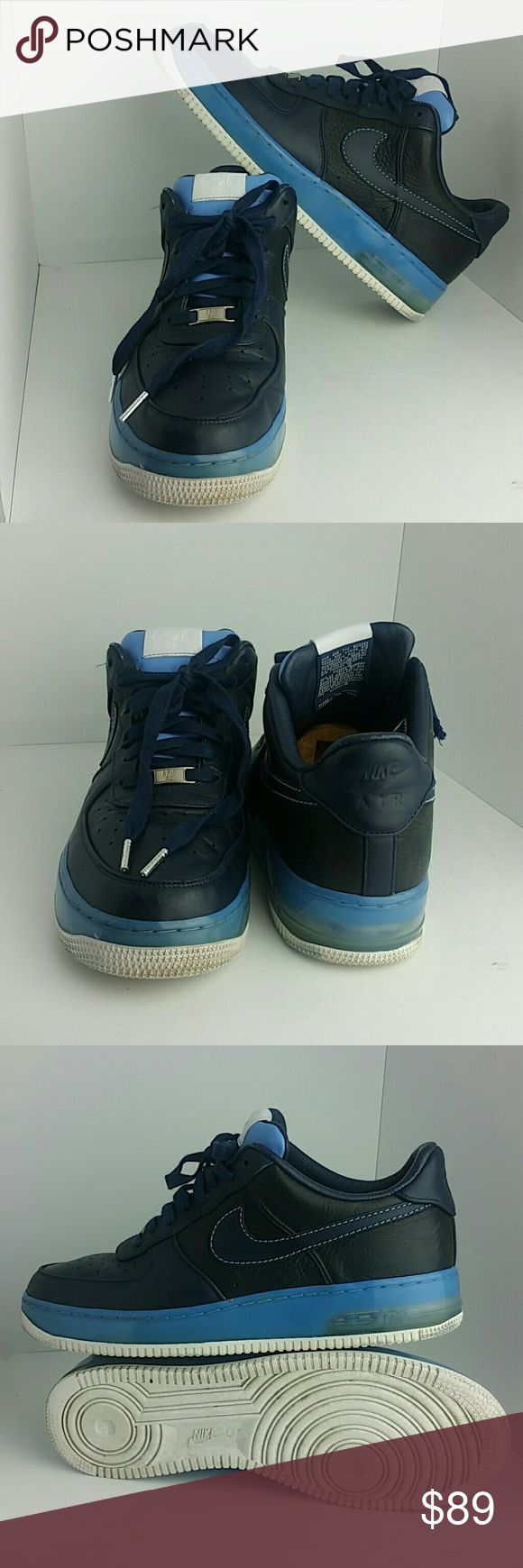NIKE AIR FORCE 1 LOW SUPREME 07 MEN'S SHOES VERY CLEAN INSIDE-OUT   SKE # KM2 NIKE  Shoes Athletic Shoes