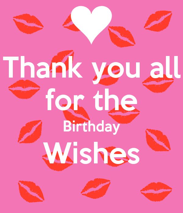 9 best thank you images on pinterest anniversary cards happy thank you all for the birthday wishes httpkeepcalm o m4hsunfo