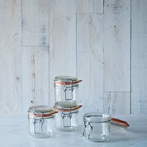 Le Parfait 7 Ounce Bail Closure Canning Jar (Set of 4) on Provisions by Food52