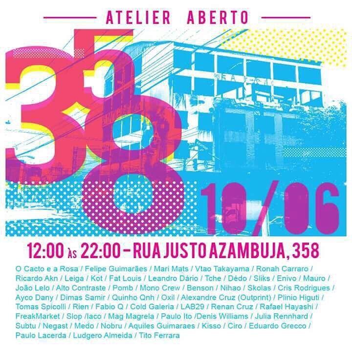 Se estiver em São Paulo não deixe de aproveitar! ---- Rua Justo Azambuja, 358 - Cambuci - SP HORARIO: 12h as 22hrs. ENTRADA - 0800