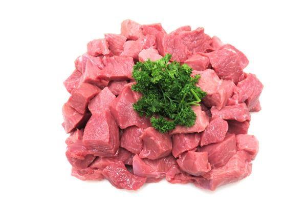 Diced Beef Round Steak