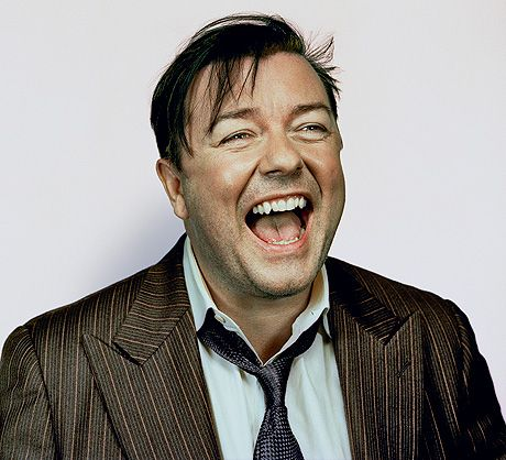 Ricky Gervais - excellent!