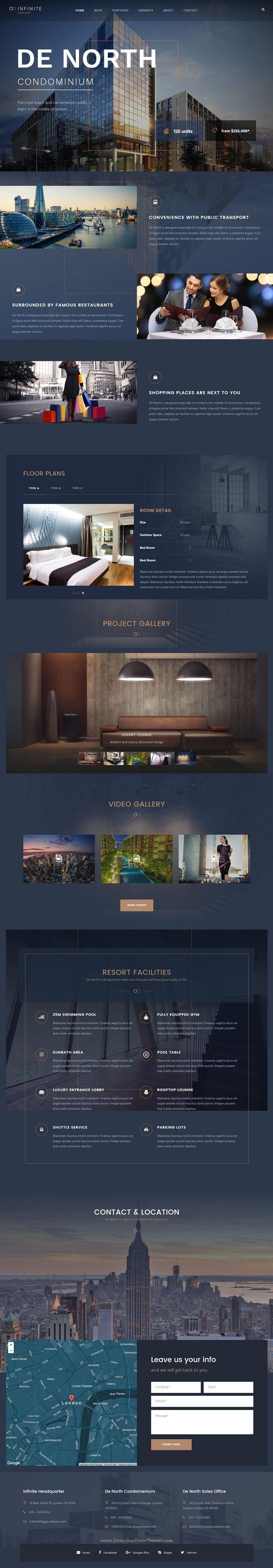 Infinite is well designed responsive #WordPress theme for multipurpose amazing…