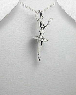 Pandantiv balerina din argint 17-1-i21191 | SilverZone.ro