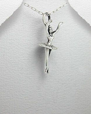 Pandantiv balerina din argint 17-1-i21191   SilverZone.ro