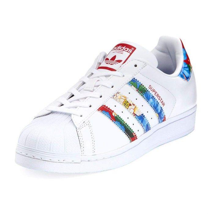 vistazo calina telegrama  Adidas Superstar Multicolor Stripe Womens Sneakers | Sapatilhas femininas,  Sapatos adidas, Tenis sapato