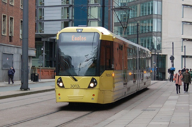 Manchester Metrolink Tram 3013 on the Eccles line.