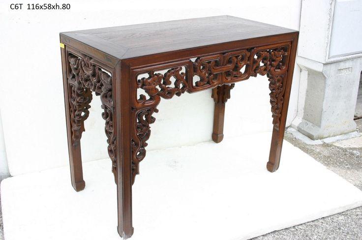 Consolle Cina (C6T) - Arredamento Antico Etnico Orientale • EUR 550,00