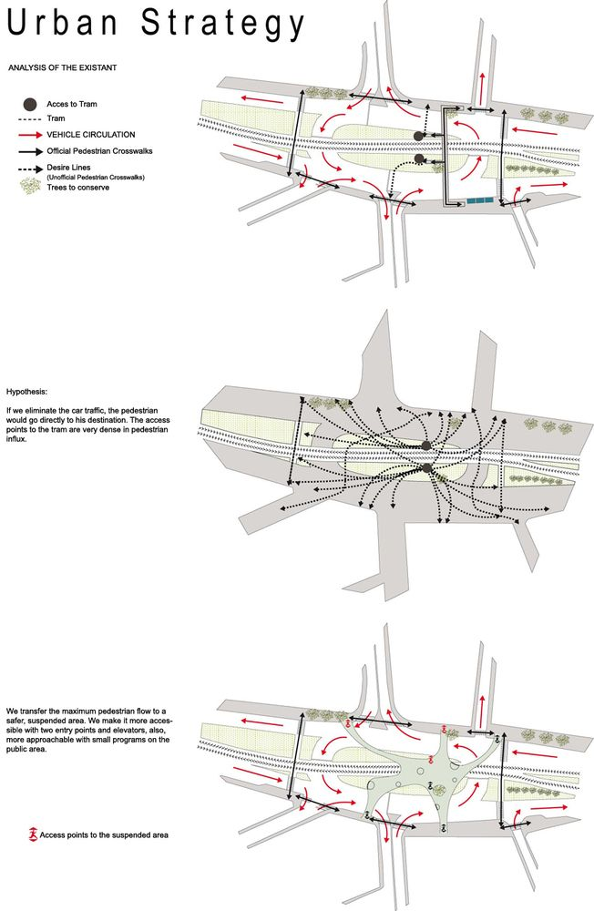 Gallery of New Visions for Pedestrian Footbridge Design Competition winner / LEA…