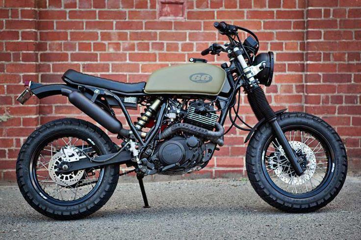 YAMAHA XT 600 Gun Slinger – 66 Motorcycles