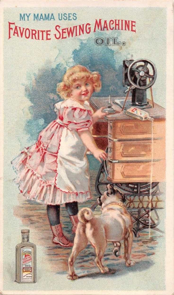 TC46 Favorite Sewing Machine Oil, Standard Oil Co., Cleveland, Ohio Trade Card