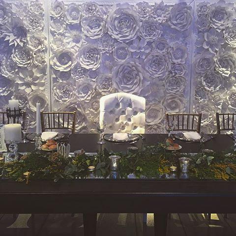 Una mesa principal muy especial para tu evento.