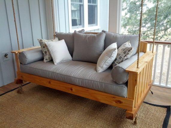 Cedar Swing Bed on etsy...charlestonswingbeds