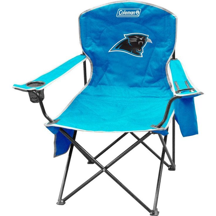 Coleman Carolina XL Quad Chair With Cooler, Team