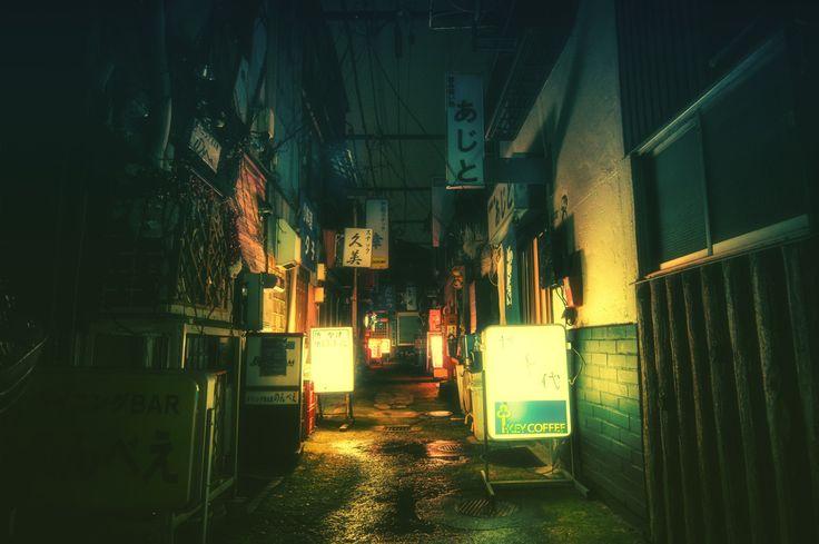 Tokyo by Night by Masashi Wakui | Abduzeedo Design Inspiration