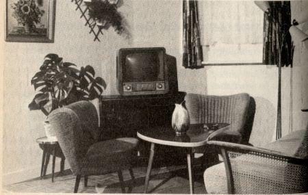 Wohnstil - 50er Jahre Sehr beliebt waren die kleinen Cocktailsessel, ob in Veloursamt oder robustem Bouclestoff ...