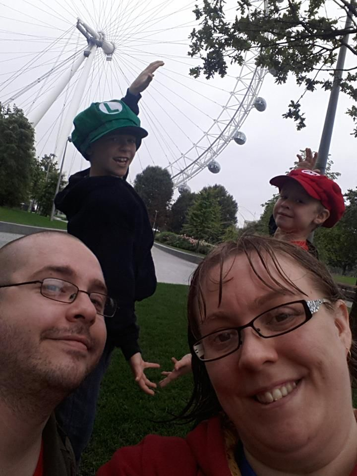 London eye selfie