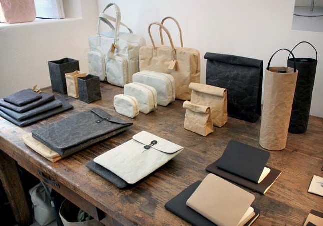 A collection of paper products for the Japanese paper company Onao by Naoto Fukasawa.