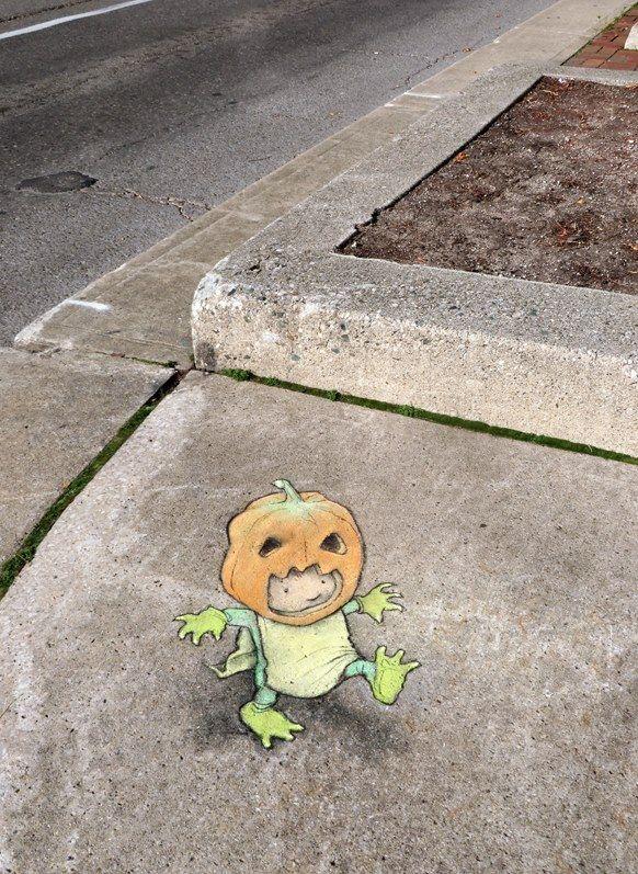 Best David Zinnstreet Artist Images On Pinterest David - David zinns 3d chalk art adorably creative