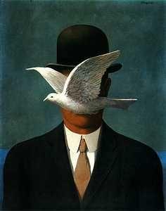 René Magritte - L'uomo con la bombetta - Luca Prat e Daniele Lecci