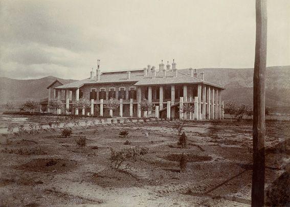 Αναστάσιος Κούπας. Το Νοσοκομείο Παίδων στου Γουδή, περίπου 1915. ©  Νεοελληνική Ιστορική Συλλογή Κωνσταντίνου Τρίπου – Φωτογραφικό Αρχείο Μουσείου Μπενάκη