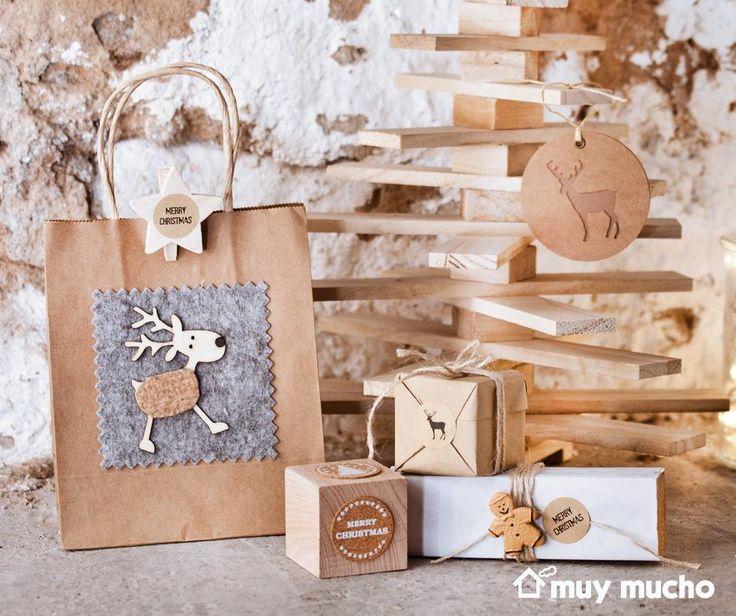 Material para envolver regalos y dejar volar la imaginación. Todo de muy mucho #muymucho #muymuchopormuypoco #regalos #diy #envolver #navidad